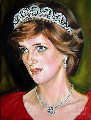 Lady Diana Painting - Lady Diana 2 by Hidemi