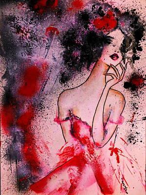 Hada Painting - Lady Divina by Yolanda  Palomo del Castillo