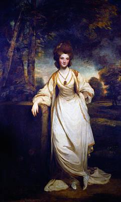 Painting -  Lady Elizabeth Compton by Sir Joshua Reynolds