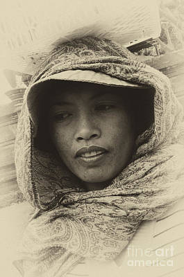 Photograph - Lady From Bali by Bob Christopher