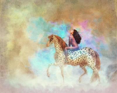 Digital Art - Lady G. by Terry Fleckney