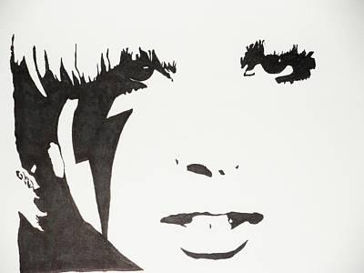 Lady Gaga 2 Art Print by Kenneth Regan