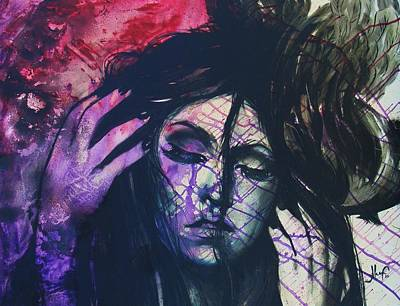 Lady Gaga Painting - lady gaga Alejandro  by Alexis  Antuna by Alexis  Antuna