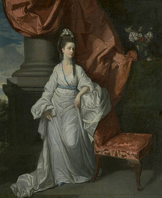 Painting - Lady Grant, Wife Of Sir James Grant by Treasury Classics Art