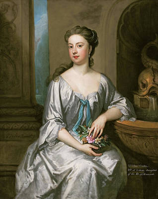 Kneller Painting - Lady Henrietta Crofts, Duchess Of Bolton by Godfrey Kneller