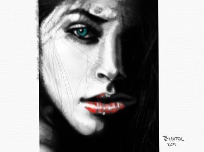 Grace Kelly - Lady in Black by Ricardo Mester
