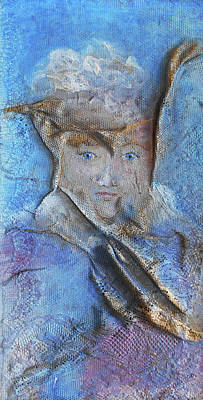 Mixed Media - Lady In Lace by Angela Stout