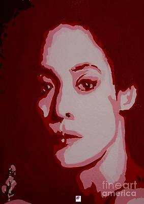 Painting - Lady In Red  by Carol Rashawnna Williams