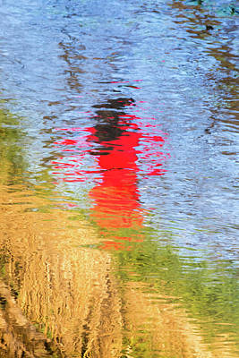 Monet Lady Photograph - Lady In Red by Ralph Daher