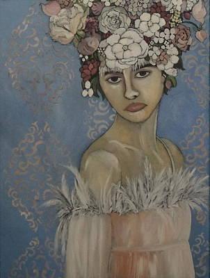 Lady In Wait Original by Terri Jordan