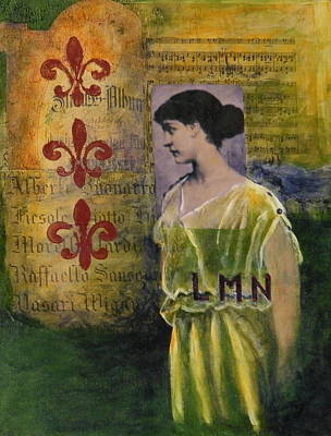 Lady In Waiting Art Print by Terry Honstead