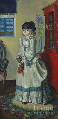 Lady Jean, 1924 Art Print by George Wesley Bellows