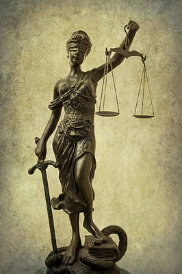 Photograph - Lady Justice by Garry Gay