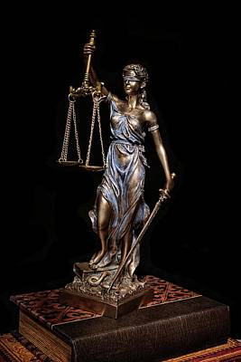 Photograph - Lady Justice by Ken Smith