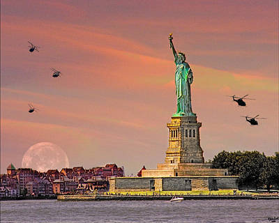 Photograph - Lady Liberty by Chris Lord