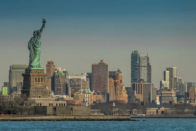 Photograph - Lady Liberty by Daniel Carvalho