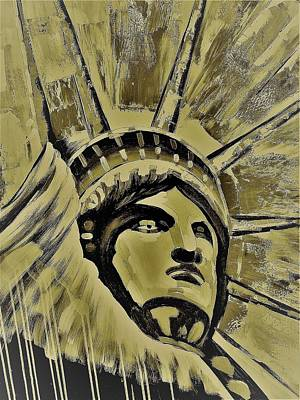 Photograph - Lady Liberty Gold by Rob Hans