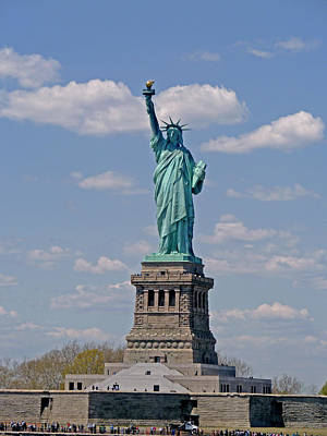 Photograph - Lady Liberty by Helen Haw