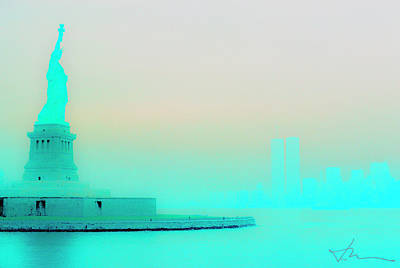 Photograph - Lady Liberty by Jan W Faul