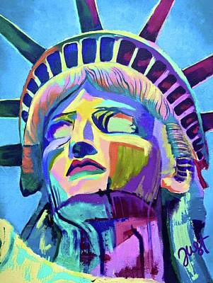 Painting - Lady Liberty by Janice Westfall