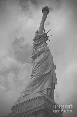 Photograph - Lady Liberty by Louise Fahy