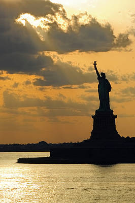 Photograph - Lady Liberty by Michael Flood