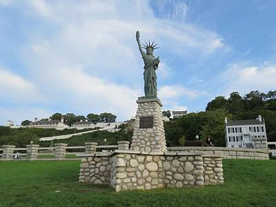Photograph - Lady Liberty On Mackinac Island by Keith Stokes