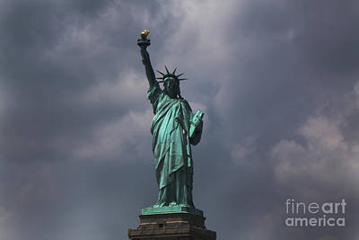 Photograph - Lady Liberty by Parker O'Donnell