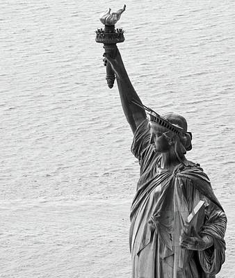 Photograph - Lady Liberty by Rand