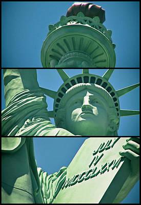 Photograph - Lady Liberty by Ricky Barnard