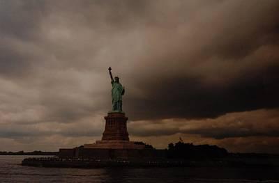 Lady Liberty Original by Rob Hans