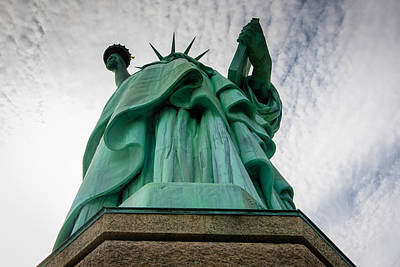 Statue Of Liberty Photograph - Lady Liberty by Sara Frank