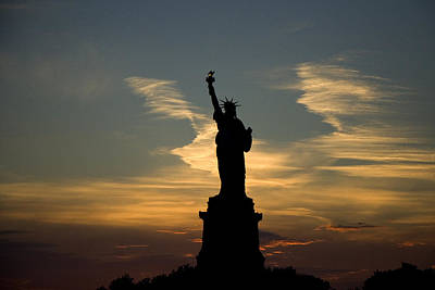 Photograph - Lady Liberty by Van Corey