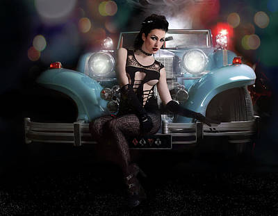 Photograph - Lady Luck by Justin Gage