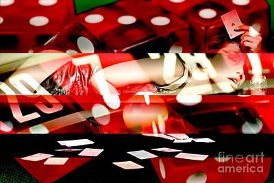 Photograph - Lady Luck Tonight by John Rizzuto