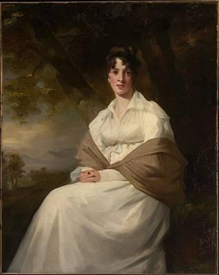 Lady Maitland Art Print by Henry Raeburn