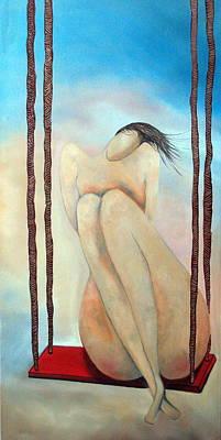 Lady Marmalade Art Print by Niki Sands