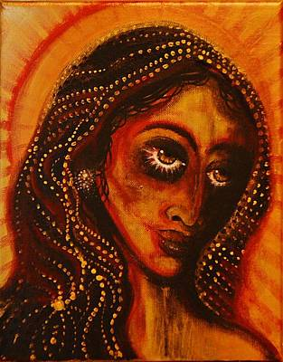 Painting - Lady Of Gold by Sandro Ramani