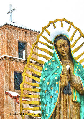 Photograph - Lady Of Guadalupe by Britt Runyon