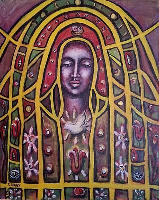 Lady Of Peace Art Print