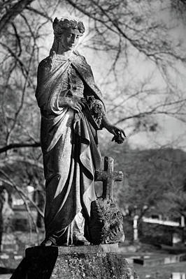 Photograph - Lady Of Remembrance by James L Bartlett