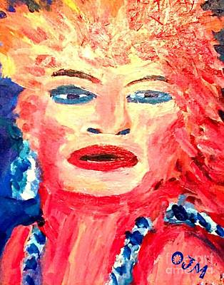 Tina Turner Painting - Lady Of The 80s by Owen McCafferty