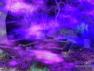 Photograph - Lady Of The Grave Yard by D Hackett