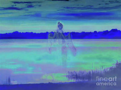 Photograph - Lady Of The Lagoon by D Hackett