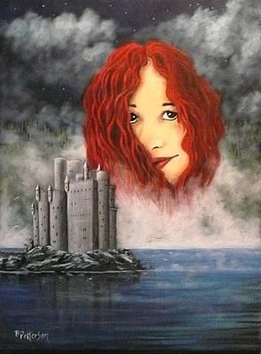 Lady Of The Lake Art Print by Bob Patterson