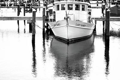 Photograph - Lady Sandy Boat by Joan McCool