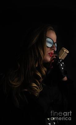 Digital Art - Lady Sings The Blues by Jim Hatch