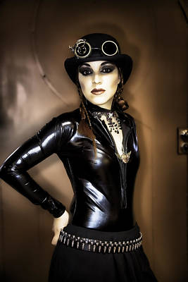Steampunk Royalty-Free and Rights-Managed Images - Lady Steampunk by Hugh Smith