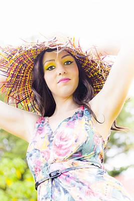 Youthful Photograph - Lady Sun Shine by Jorgo Photography - Wall Art Gallery