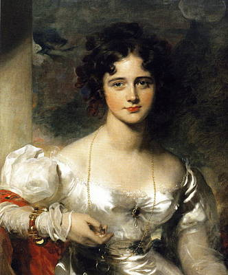 Lady Art Print by Thomas Lawrence